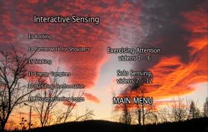 Interactive Sensing Menu